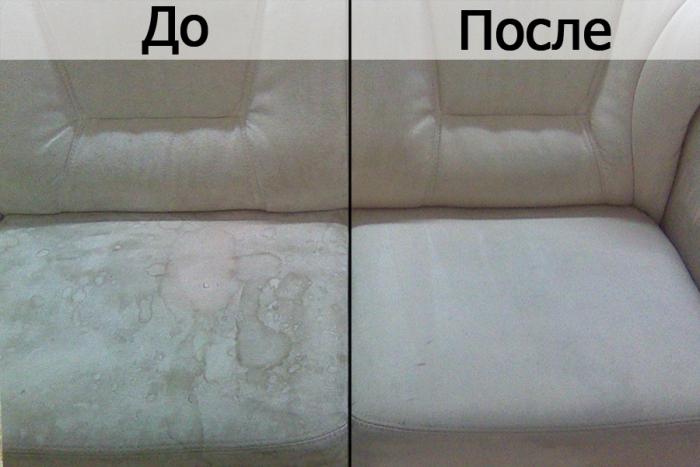 Химчистка дивана дома своими руками